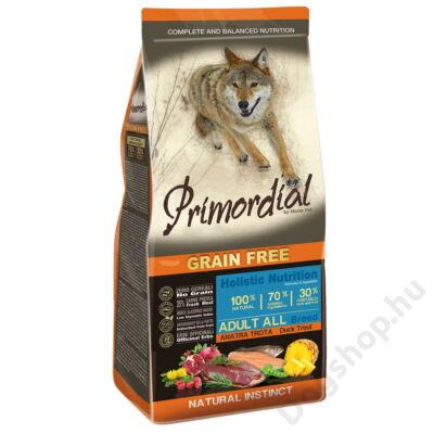 Primordial Grain Free Adult Kacsa és Pisztráng 12kg