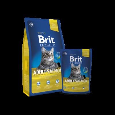 Brit Premium Cat Adult salmon 8kg