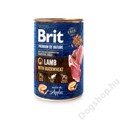 Brit Premium by Nature Paté Lamb wih Buckwheat 800g