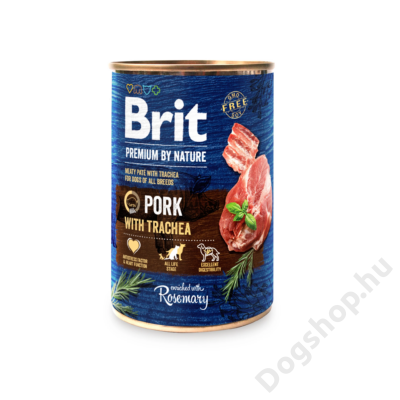 Brit Premium by Nature Paté Pork with Trachea 800g