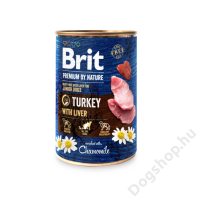Brit Premium by Nature Paté Turkey with Liver 800g