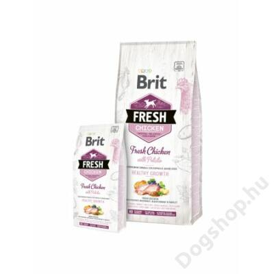 Brit Fresh Chicken with Potato Puppy Healthy Growth 2,5 kg