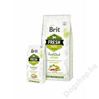 Brit Fresh Duck with Millet Active Run & Work 2,5 kg