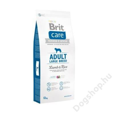 Brit Care Adult Large Breed Lamb & Rice 12 kg 2db