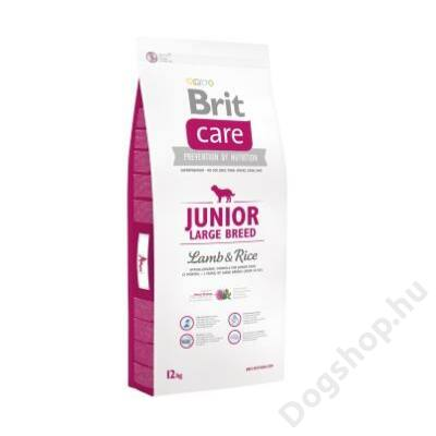 Brit Care Junior Large Breed Lamb & Rice 1 kg