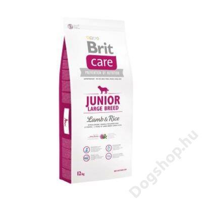 Brit Care Junior Large Breed Lamb & Rice 12 kg 2db