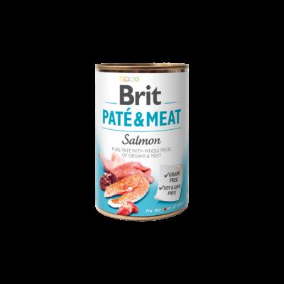 Brit Paté & Meat Salmon 400 g