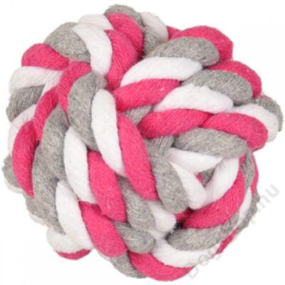 Flamingo játék kötél labda pink 8,5 cm