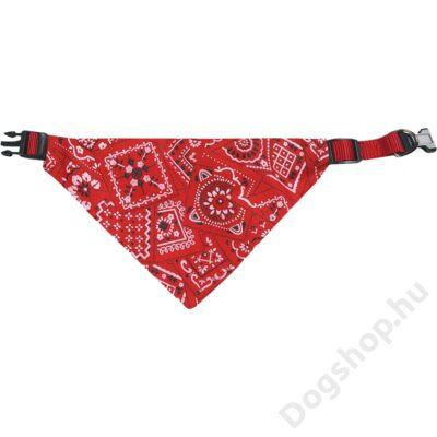 Flamingo nyakörv+kendő piros 40/65cm 25 mm