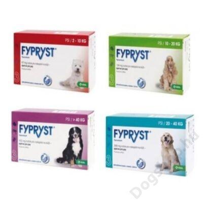 Fypryst kullancs bolha csepp kutyának L 20-40 kg