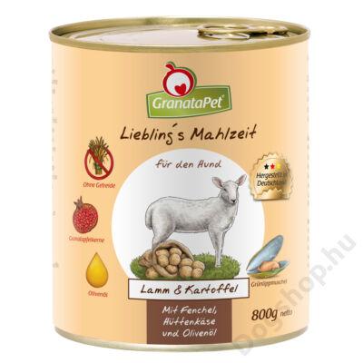 GranataPet Liebling´s Mahlzeit bárány és burgonya konzerv 400 g