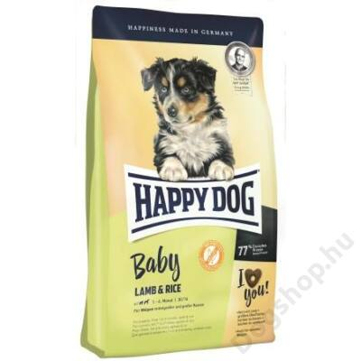 Happy Dog Supreme BABY LAMM/REIS 4kg