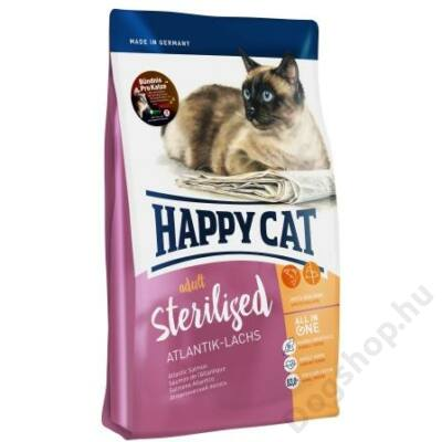 Happy Cat Supreme FIT&WELL ADULT STERILISED LAZAC 1,4kg