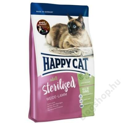 Happy Cat Supreme FIT&WELL ADULT STERILISED BÁRÁNY 10kg