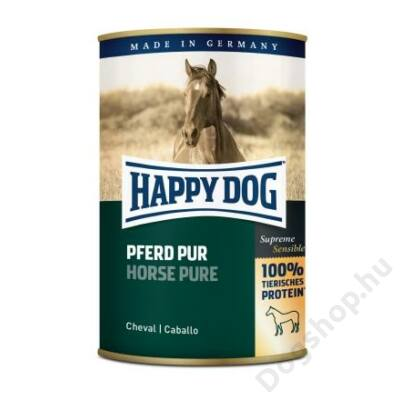 Happy Dog konzerv PFERD PUR (Ló) 12x400g