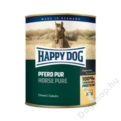 Happy Dog konzerv PFERD PUR (Ló) 6x800g