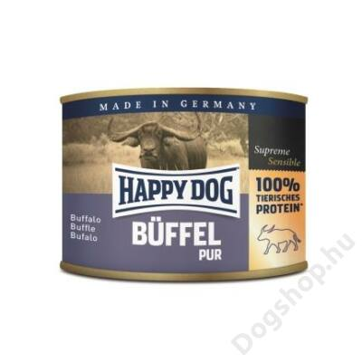 Happy Dog konzerv BÜFFEL PUR (Bivaly) 12x200g