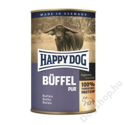 Happy Dog konzerv BÜFFEL PUR (Bivaly) 12x400g