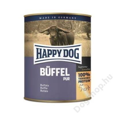 Happy Dog konzerv BÜFFEL PUR (Bivaly) 6x800g