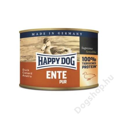 Happy Dog konzerv ENTE PUR (Kacsa) 12x200g