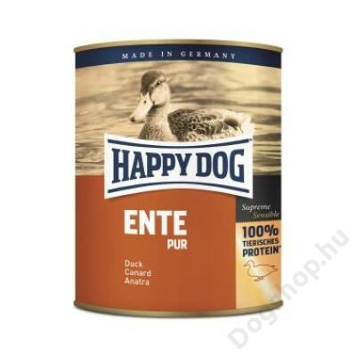 Happy Dog konzerv ENTE PUR (Kacsa) 6x800g