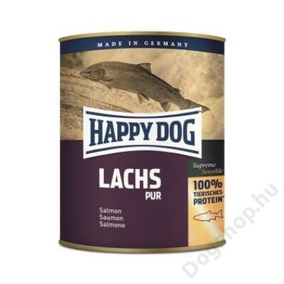 Happy Dog konzerv LACHS PUR (Lazac) 6x800g