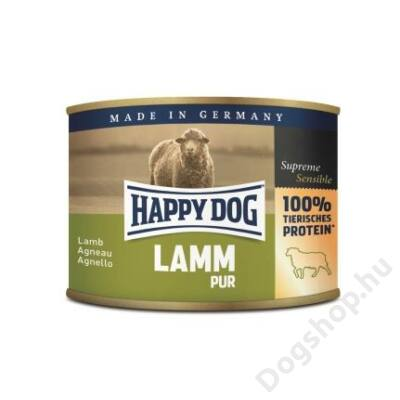Happy Dog konzerv LAMM PUR (Bárány) 12x200g