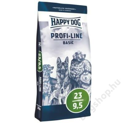 Happy Dog Profi-Krokette BASIC 23/9,5 20kg