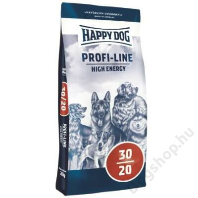 Happy Dog Profi-Krokette HIGH ENERGY 30/20 20kg