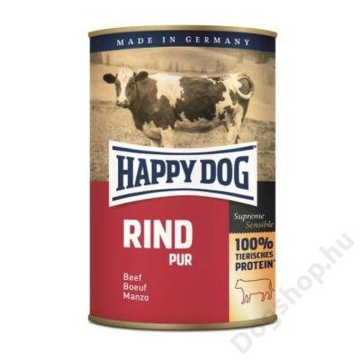 Happy Dog konzerv RIND PUR (Marha) 12x400g