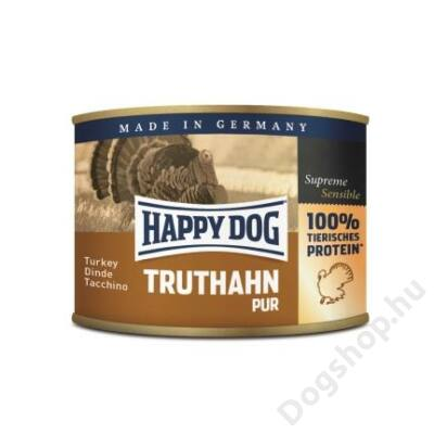 Happy Dog konzerv TRUTHAHN PUR (Pulyka) 12x200g