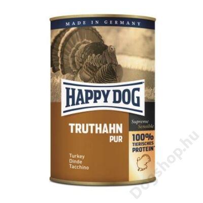 Happy Dog konzerv TRUTHAHN PUR (Pulyka) 12x400g