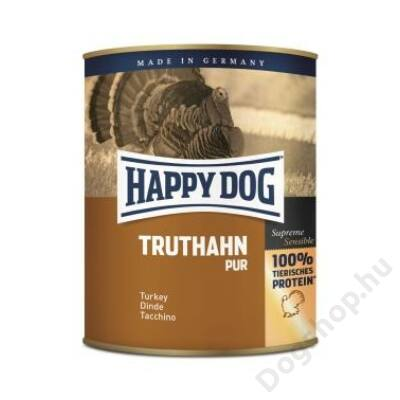 Happy Dog konzerv TRUTHAHN PUR (Pulyka) 6x800g