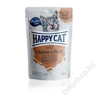 HAPPY CAT POUCH SZÓSZ CSIRKE-KACSA 24x85g