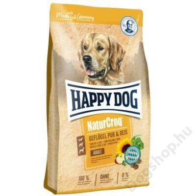Happy Dog NATUR-CROQ GEFLÜGEL & REIS (Baromfi & rizs) 4kg