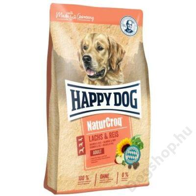 Happy Dog NATUR-CROQ LACHS/REIS 12kg