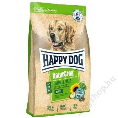 Happy Dog NATUR-CROQ LAMM/REIS (Bárány & rizs) 15kg