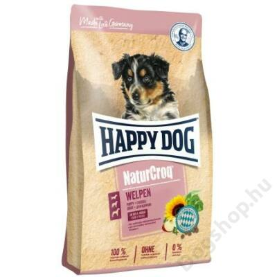 Happy Dog NATUR-CROQ WELPEN (Kölyök) 15kg