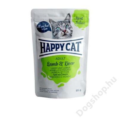 HAPPY CAT POUCH SZÓSZ BÁRÁNY-MÁJ 24x85g