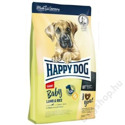 Happy Dog Supreme BABY GIANT LAMM/REIS 4kg