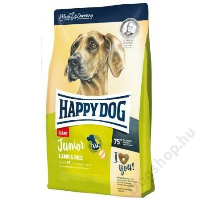 Happy Dog Supreme JUNIOR GIANT LAMM/REIS 4kg