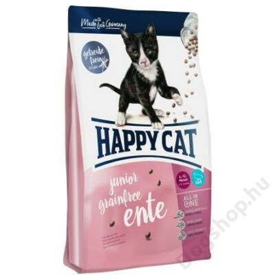 Happy Cat Supreme FIT&WELL JUNIOR GRAINFREE KACSA 300g