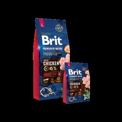 Brit Premium by Nature Large Adult 3kg