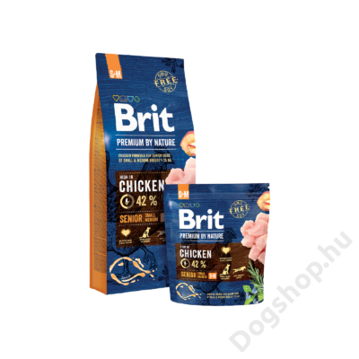 Brit Premium by Nature Small/Medium Senior 8Kg