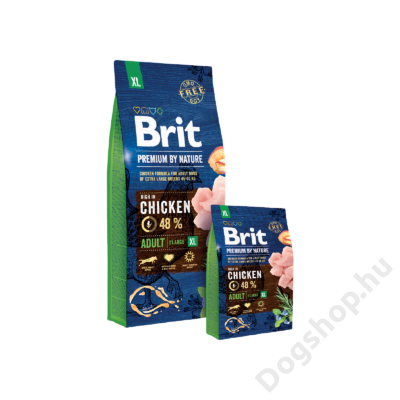 Brit Premium by Nature Extra Large Adult 2db 15kg