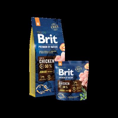 Brit Premium by Nature Medium Junior 15kg