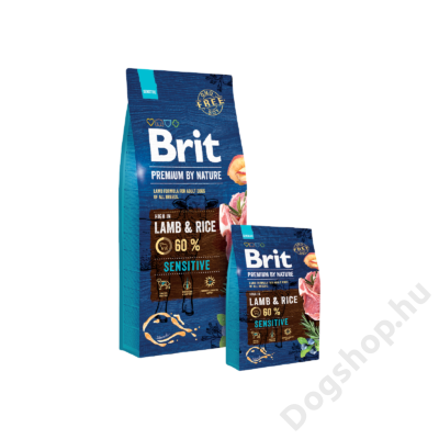 Brit Premium by Nature Lamb & Rice 3kg