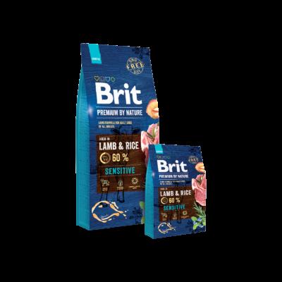 Brit Premium by Nature Lamb & Rice 2db 15kg