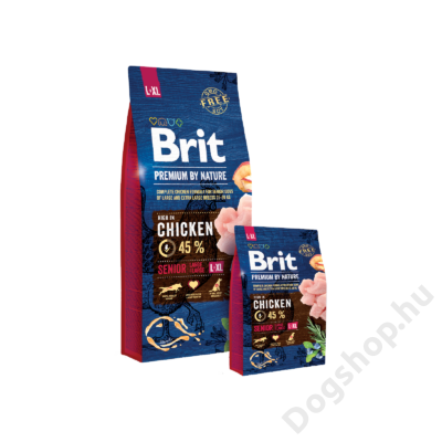 Brit Premium by Nature Large/Extra Large Senior 2db 15Kg