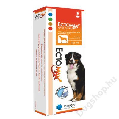 ECTOMAX SPOT-ON DOG 744MG/ML 1 ML 1X